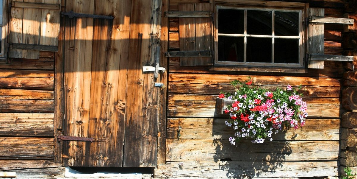 Un abri de jardin
